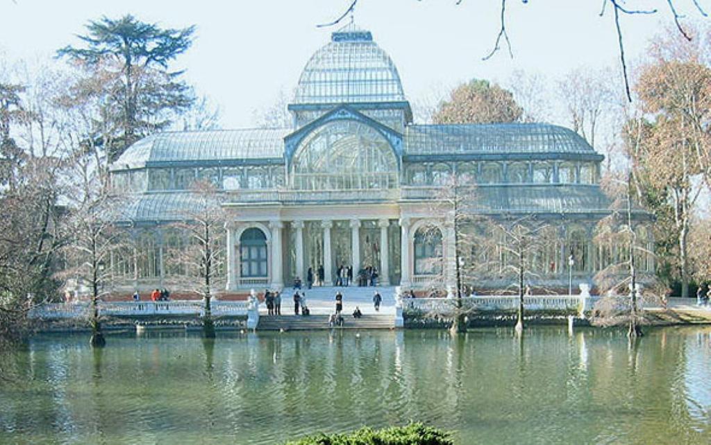 Palacio de cristal en madrid palacios en espa a for Direccion madrid espana
